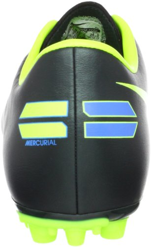 Nike Mercurial Victory Iii Ag, Scarpe da calcio uomo nero Size: Negro / Verde