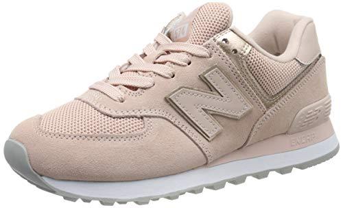 New Balance Damen 574v2 Sneaker, Oyster Pink, 36 EU Rosa Damen Sneaker