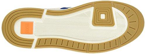 Boss Orange Stillnes, Sneakers Basses Homme Blanc (White 100)
