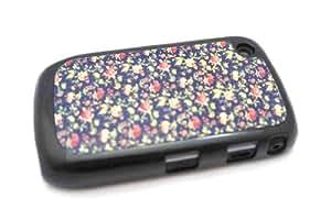 Vintage Shabby Chic Fleur Design Blackberry Curve 8520/9300 Coque arriere Coque Case