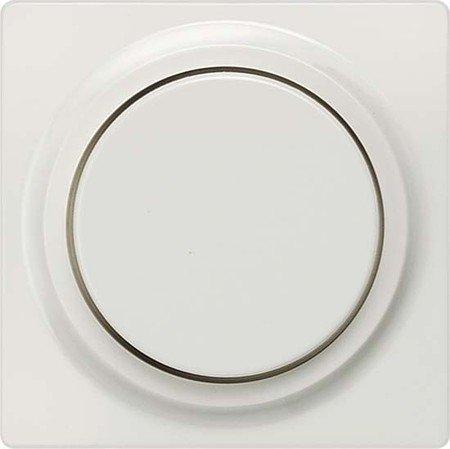 BJC Delta i-sys Farbe-Platte Dimmer hell Taste Delta System Aluminium -