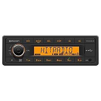 Continental-TR7423UB-OR-24-Volt-MP3-Autoradio-mit-Bluetooth-USB-AUX-IN