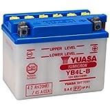 YUASA YB4L de B original Moto Batterie avec acide Pack, en qualité d'origine