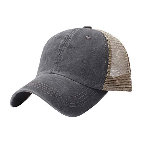 ap Unisex Mütze, Kappe für Herren Und Damen, Einfarbige Basecap, Rundum Geschlossen Baseball Mütze für Outdoor Baumwolle Von Hoher Qualität ()