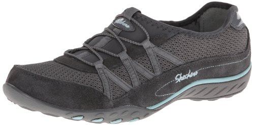 Skechers - BREATHE-EASY - RELAXATION, Scarpe sportive Donna Grigio (CCL)