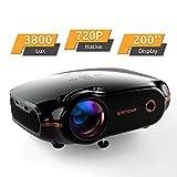 Mini Beamer, Portable Crenova Video Projektor, HD Beamer mit 200