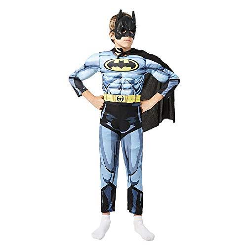 Kind Kostüm Batman Fett - RANRAN Kinder Batman Kostüm Bühnenkostüm Halloween Kostüm Cosplay,M