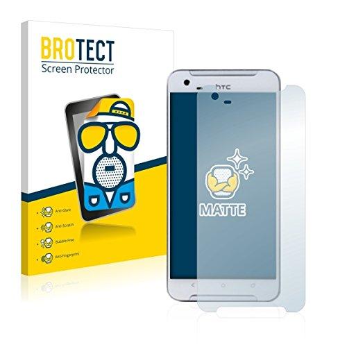 2X BROTECT Matt Bildschirmschutz Schutzfolie für HTC One X9 (matt - entspiegelt, Kratzfest, schmutzabweisend)