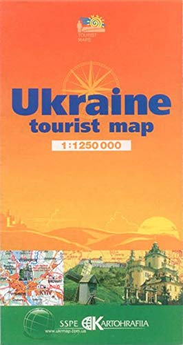 Ukraine: tourist map, Maßstab 1: 1 250 000