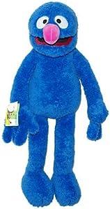 Living Puppets SE102 Grobi - Marioneta de Mano (65 cm), Color Azul