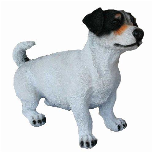 Hundefigur # Jack Russel Terrier # Handbemalt für Innen und Außen -