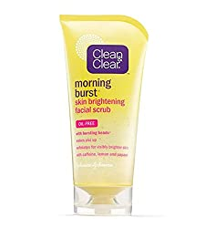 CLEAN & CLEAR CLEAN - CLEAR Morning Burst Skin Brightening Facial Scrub 5 oz