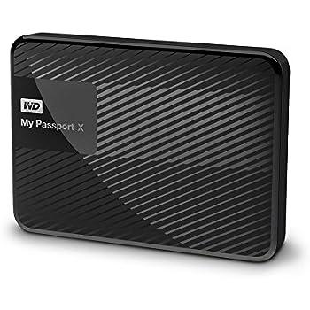 Western Digital My Passport X - Disco duro externo portátil para juegos de 3 TB (