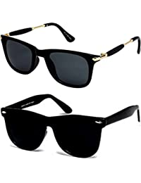 Sunglasses For Boys Stylish Combo For Mens Womens Girls At Low Price Uv Protected Non Polarized Sun Glasses Goggle...
