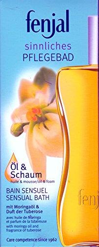 Fenjal Öl & Schaum Bad mit Moringöl und Duft der Tuberose 200 ml -