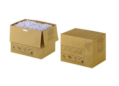 Rexel 1765030EU Aktenvernichter-Abfallsack aus Recyclingpapier für Auto+ 500X, 80 L, 50 Stück