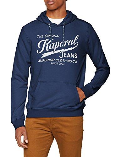 Kaporal BOKY, Sweat-Shirt àCapuche Homme, Bleu (Blue Us), M (Taille Fabricant: M)