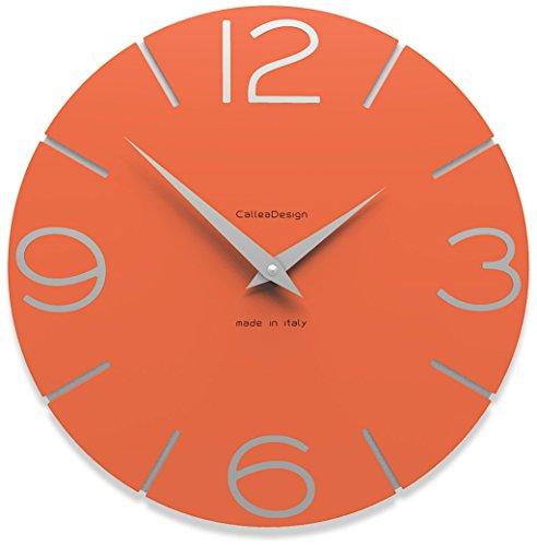 Calleadesign - Horloge murale Smile, orange