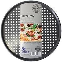 Prochef Plat à pizza en téflon Fibre de carbone 35 cm