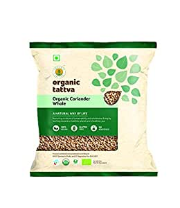Organic Tattva Coriander Whole, 100g