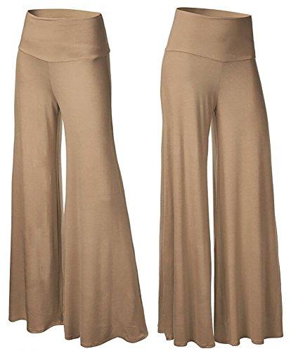 happy-lily-mujer-cintura-alta-slinky-ancho-pierna-de-largo-palazzo-bell-bottom-pantalones-de-yoga-ma