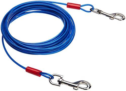 AmazonBasics - Cable para atar perros, hasta 27 kg, 7,62 m