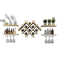 Estante para Vino Sala de Estar Soporte de exhibición Botella de Vino Estante Estante Estante de