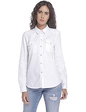 Fashion - Camisas - Túnica - Básico - Manga Larga - para mujer