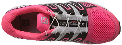 Salomon Running Shoes X-Scream W Fluo Pink White Black Rosa/Nero/Bianco
