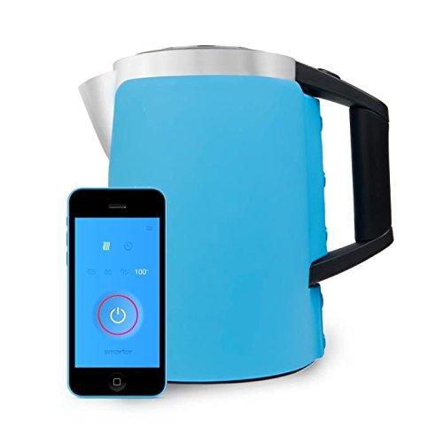 Smarter - Funda de silicona de dos piezas para hervidor WiFi, azul