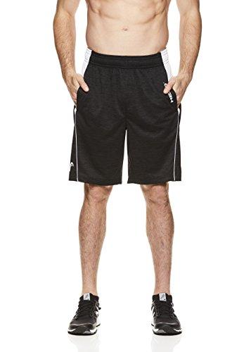 HEAD-Mens-Legend-Mesh-Insert-Workout-Gym-Running-Shorts-wElastic-Waistband-Drawstring