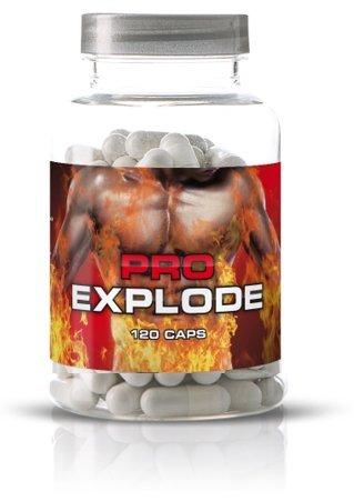 PRO EXPLODE - Pre Workout Booster - 120 Kapseln ORIGINAL PRODUKT NEUER Muskel Trainings Booster WIRKT SCHNELL UND ANABOL Beste Vitamine Für Speicher