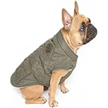 cea51b8eafb7 Canada Pooch Cityscape Coat, Size 12 W, Green, dog coat