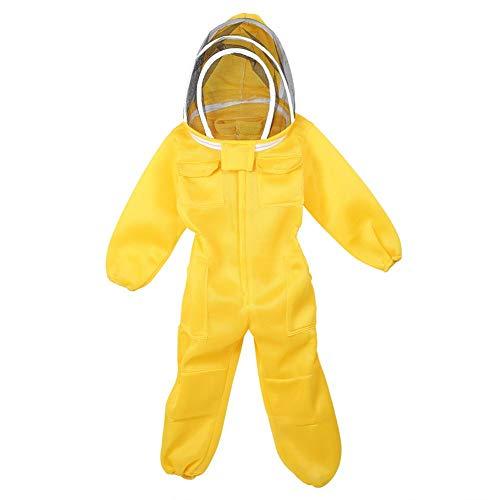 Caredy Imkeranzug, Imker-Outfit Imkerjacke Imkerjacke Imkeranzug Imkerjacke Bee Hive Tool Einteiliger, atmungsaktiver Imker-Schutzanzug mit Kapuze