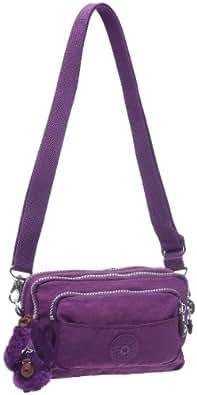 Kipling Nevada, Valises mode mixte adulte  - Violet (Bright Purple)