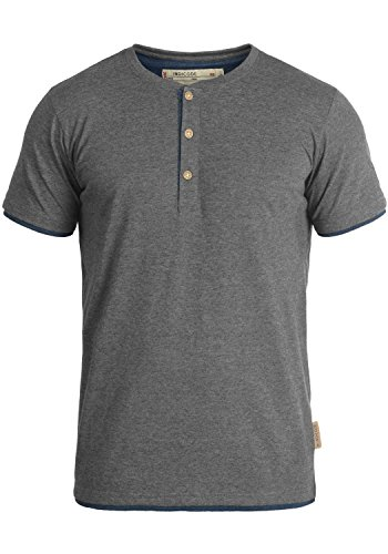 INDICODE Tony T-Shirt, Größe:XL;Farbe:Grey Mix (914) (Baseball-leichtes T-shirt)