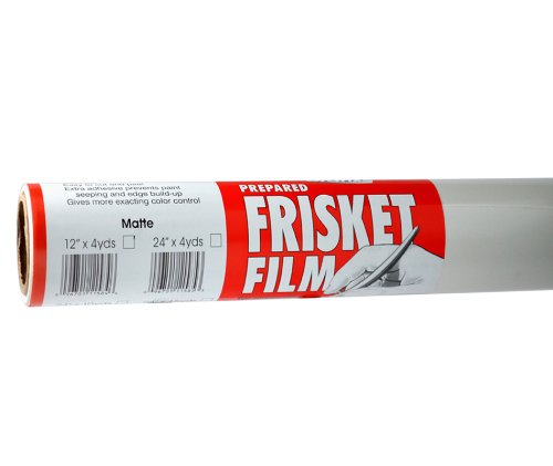 Grafix Frisket Film (Grafix Extra Tack Frisket Film Rolle 24-inch-by-10-yards, matt)