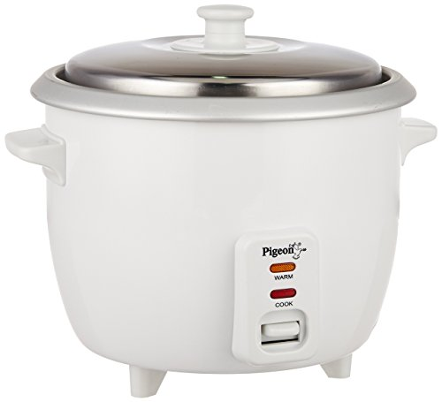 Pigeon Favourite 94 1-Litre Rice Cooker (White)