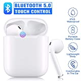 Bluetooth 5.0 Drahtloses Bluetooth-Headset Drahtlose Stereo-Kopfhörer In-Ear-Kopfhörer IPX5 wasserdichte Kopfhörer Noise Cancelling-Kopfhörer für Airpods/iOS/Android Tragbare drahtlose Kopfhörer