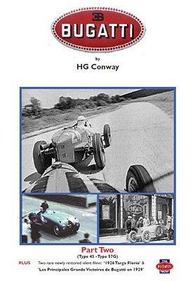 Preisvergleich Produktbild Bugatti DVD Part 2 Type 52 - Type 57G *NEW