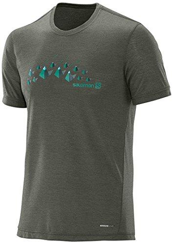 Preisvergleich Produktbild Salomon Explore Graphic SS T-Shirt XXL Dunkelgrün