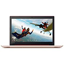 2018 Lenovo Ideapad 320 15.6 Inch HD High Performance Flagship Laptop (Intel Celeron N3350 Dual-Core, 4GB RAM, 128GB SSD, Bluetooth 4.1, WiFi, DVD RW, HDMI, USB 3.0, Webcam, Windows 10) (Red)