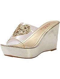 Lanspo - Sandalias para mujer beige beige 40, color negro, talla 36 EU