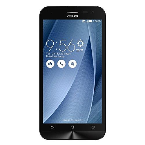 """Asus ZenFone 2 Laser 5"""" Smartphone, 16 GB, Dual SIM, Argento [Italia]"""