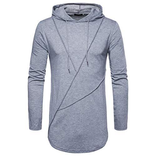 Paolian T-Shirt à Manches Longues à Manches Longues à Manches Longues, à la Mode et à la Mode pour Hommes