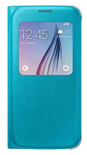 Samsung S-View Schutzhülle Case Cover mit Sichtfenster für Galaxy S5, schwarz