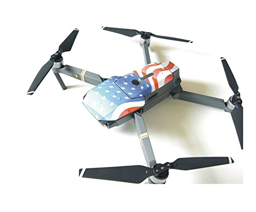 SKYREAT Flag Style Exclusive Decoration Skin Wrap Imported PVC Sticker for DJI Mavic Pro