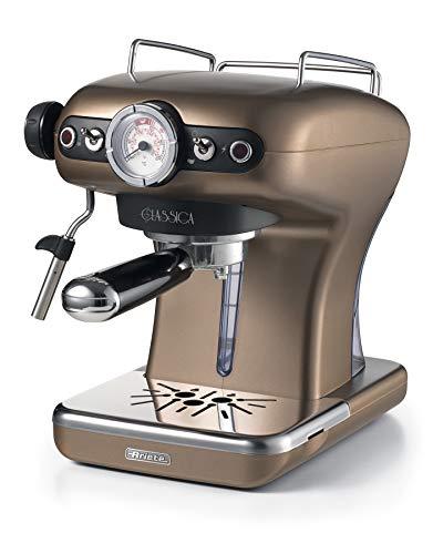 Ariete 1389/16 Classica Siebträger-Espressomaschine, 850, Kunststoff, 2 liters, Bronze