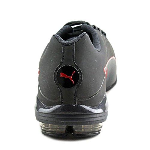 Puma Voltage 180 SL Synthétique Chaussure de Course Asphalt-Blk-Barbados Cherry
