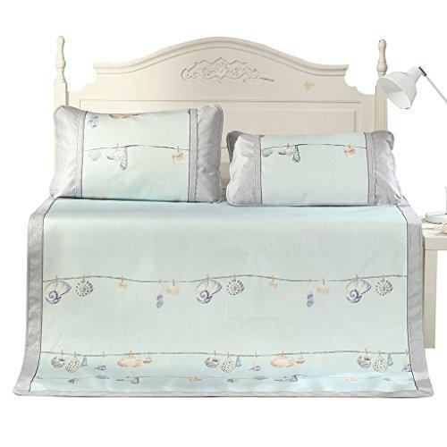 Sommer Cool Matratze Matten Ice Silk Klimaanlage Pad Faltbare Einzel Doppel Student Bett Mat (Color : 180 * 200CM) (Pet-cool Klimaanlage)